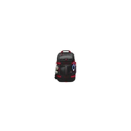 Backpack HP 15.6 Odyssey Negro con Rojo - Envío Gratuito