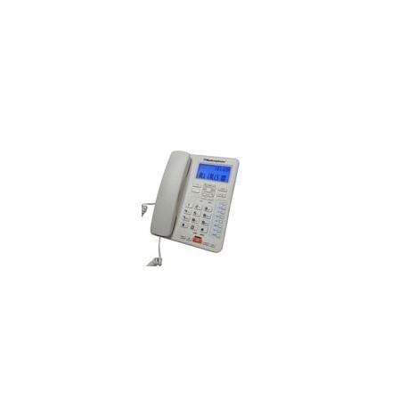 Teléfono Modernphone TC-6400 Alámbrico 2 Líneas - Envío Gratuito