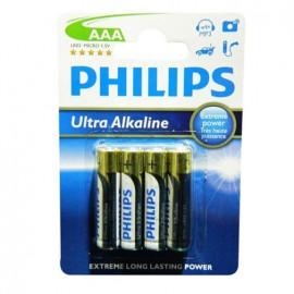 AAA ULTRA ALKALINE - 4 PACK - Envío Gratuito