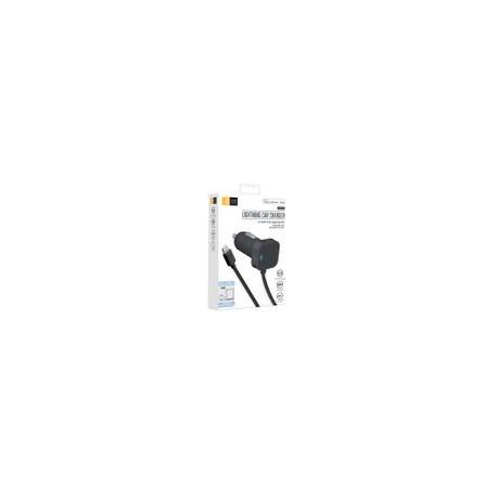 Adaptador Auto Case Logic Negro 2.4 AMP MFI - Envío Gratuito