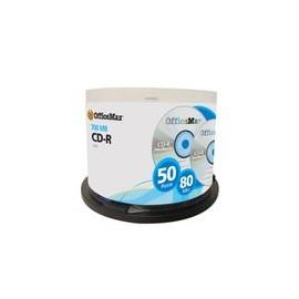 CD-R Officemax 700MB 80Min 52X 50Pk - Envío Gratuito