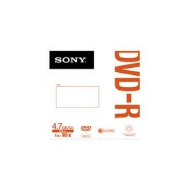 DVD-R Sony en sobre PZA - Envío Gratuito