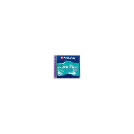 DVD-RW Verbatim 4.7GB 120Min Individual - Envío Gratuito