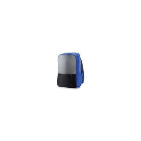 Backpack HP 15.6 Duotono Azul / Negro - Envío Gratuito