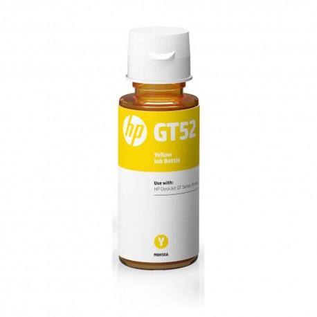 Botella HP GT52 Tinta Original Color Amarillo - Envío Gratuito