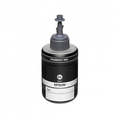 Botella de tinta Epson T774120AL Negro Monocromatica - Envío Gratuito