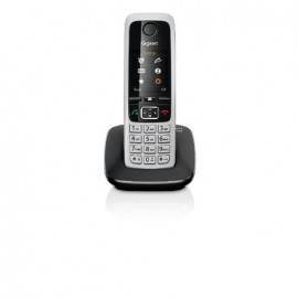 Telefono Gigaset Inalambrico C430 Single Negro - Envío Gratuito