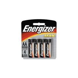 PILA AA ENERGIZER MAX CON 4 PIEZAS - Envío Gratuito