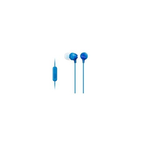 Audífono Sony MDR-EX15AP Azul - Envío Gratuito