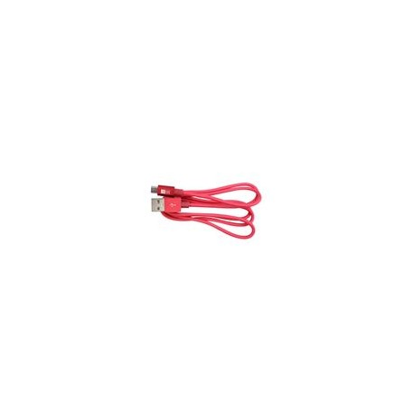 Cable Micro USB 3Ft Case Logic Rosa - Envío Gratuito