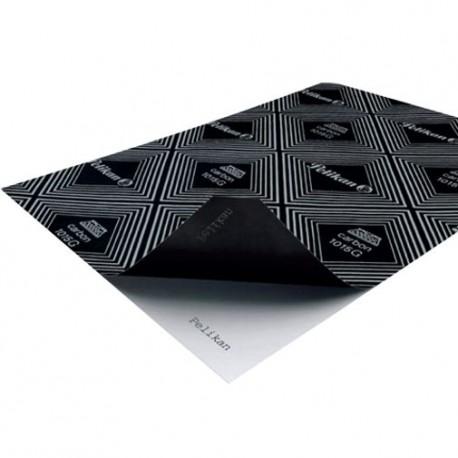 PAPEL CARBON T/O 1015 PELIKAN C/100 PELIKAN - Papel Carbón Oficio Color Negro Con 100 Pzas. - Envío Gratuito