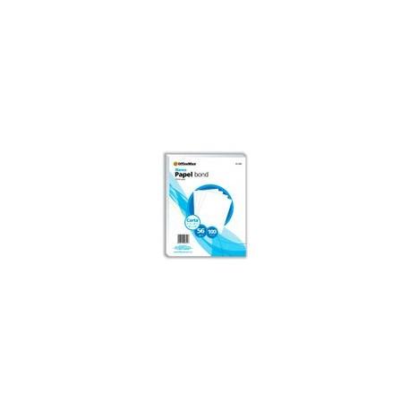 Papel Officemax Bond Blanco 100 Hojas 56 Gr - Envío Gratuito