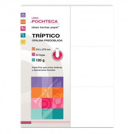TRIPTICO OPALINA PRED 120G 50H - Envío Gratuito