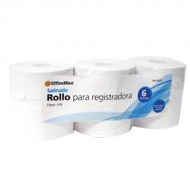 Rollo Officemax Satinado 37mm Ancho X 70mm Ancho 6 Piezas - Envío Gratuito