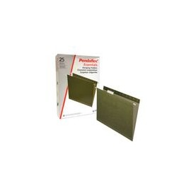 FOLDER COLGANTE OXFORD CARTA VERDE 25PZ - Folder Colgante Oxford Carta Verde 25pz - Envío Gratuito