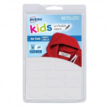 Etiqueta kids bca permanente para ropa varias formas 45p - Envío Gratuito