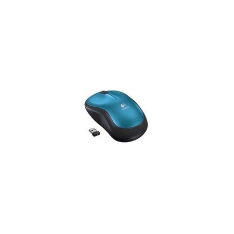 Mouse Logitech M185 Inalámbrico Azul - Envío Gratuito