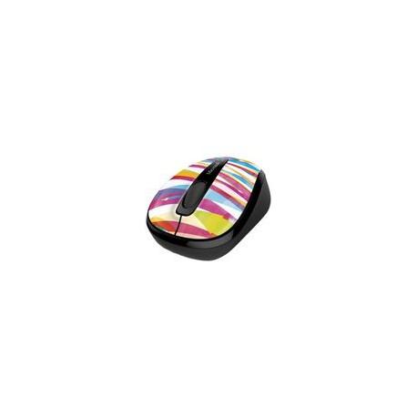 Mouse Microsoft Inalámbrico 3500 Bandage Stripes - Envío Gratuito