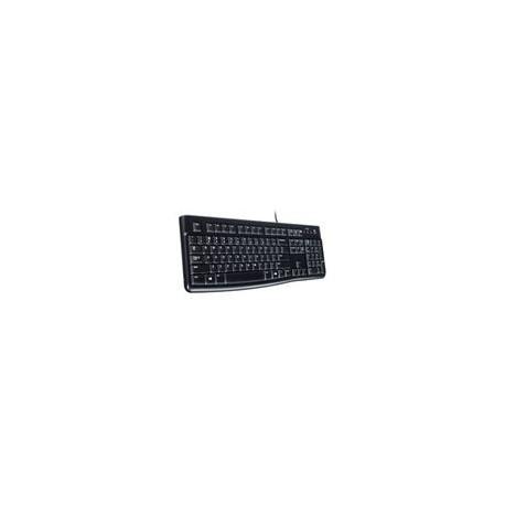 Teclado Logitech K120 Alambrico Negro - Envío Gratuito