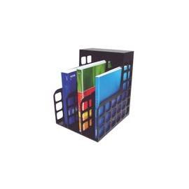 ARCHIVERO TRES DIVISIONES NEGRO 30.5 X 22.9 X 27CM - Envío Gratuito