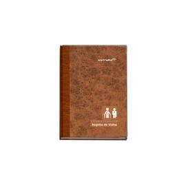 LIBRO DE REGISTRO DE VISITAS 96H - Envío Gratuito
