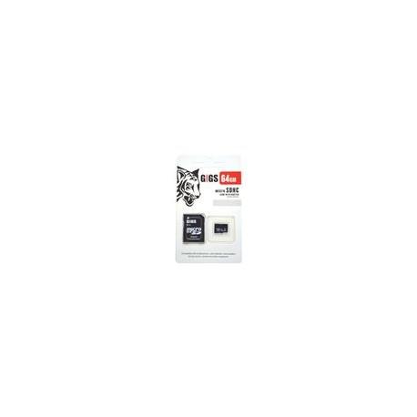 Micro SD Gigs Class 10 64GB - Envío Gratuito