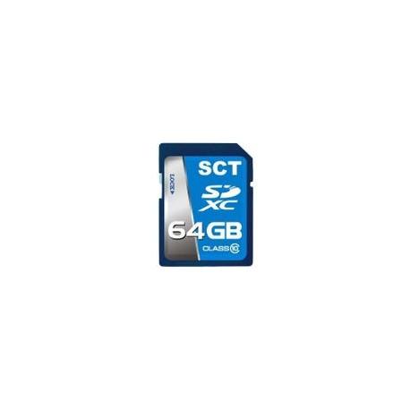 Tarjeta SD SCT 64GB Clase 10 - Envío Gratuito