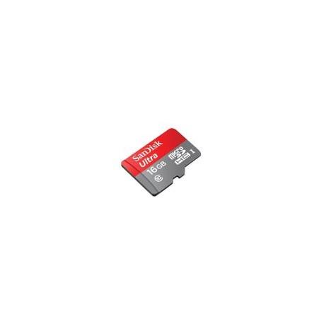 Memoria Micro SD Sandisk Ultra 16GB - Envío Gratuito