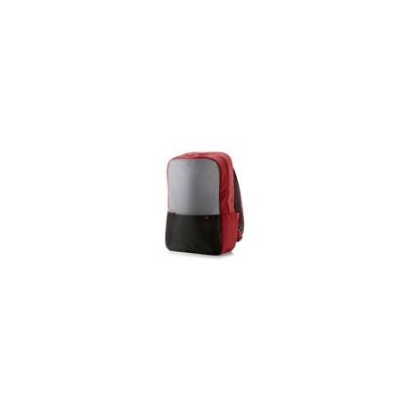 Backpack HP 15.6 Duotono Rojo / Negro - Envío Gratuito